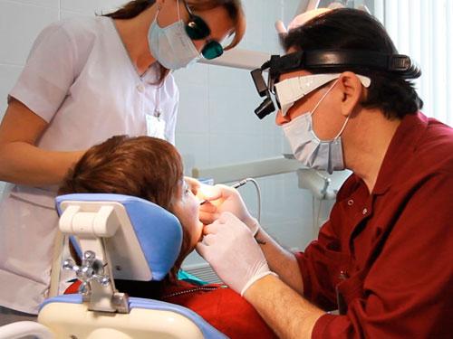 Удаление кисты зуба лазером стоимость