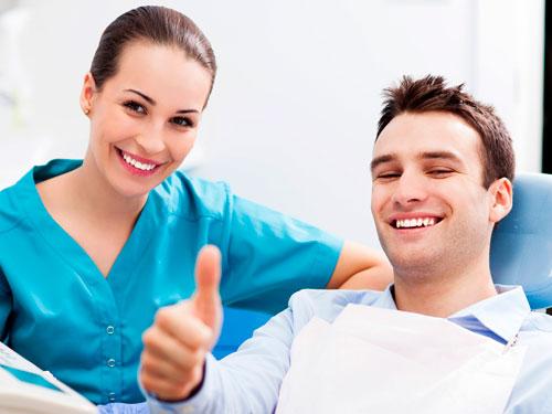 Скол зуба лечение