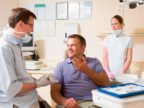 Световая пломба на передние зубы