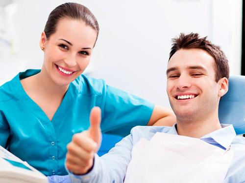 Проф чистка зубов