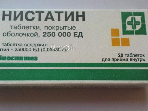 Нистатин таблетки от молочницы отзывы