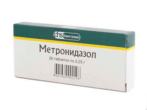 Метронидазол при молочнице у женщин