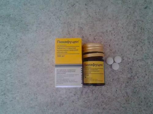 Пимафуцин цена таблетки от молочницы