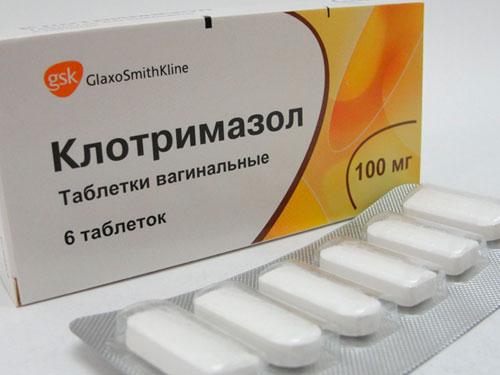 клотримазол инструкция по применению таблетки при молочнице